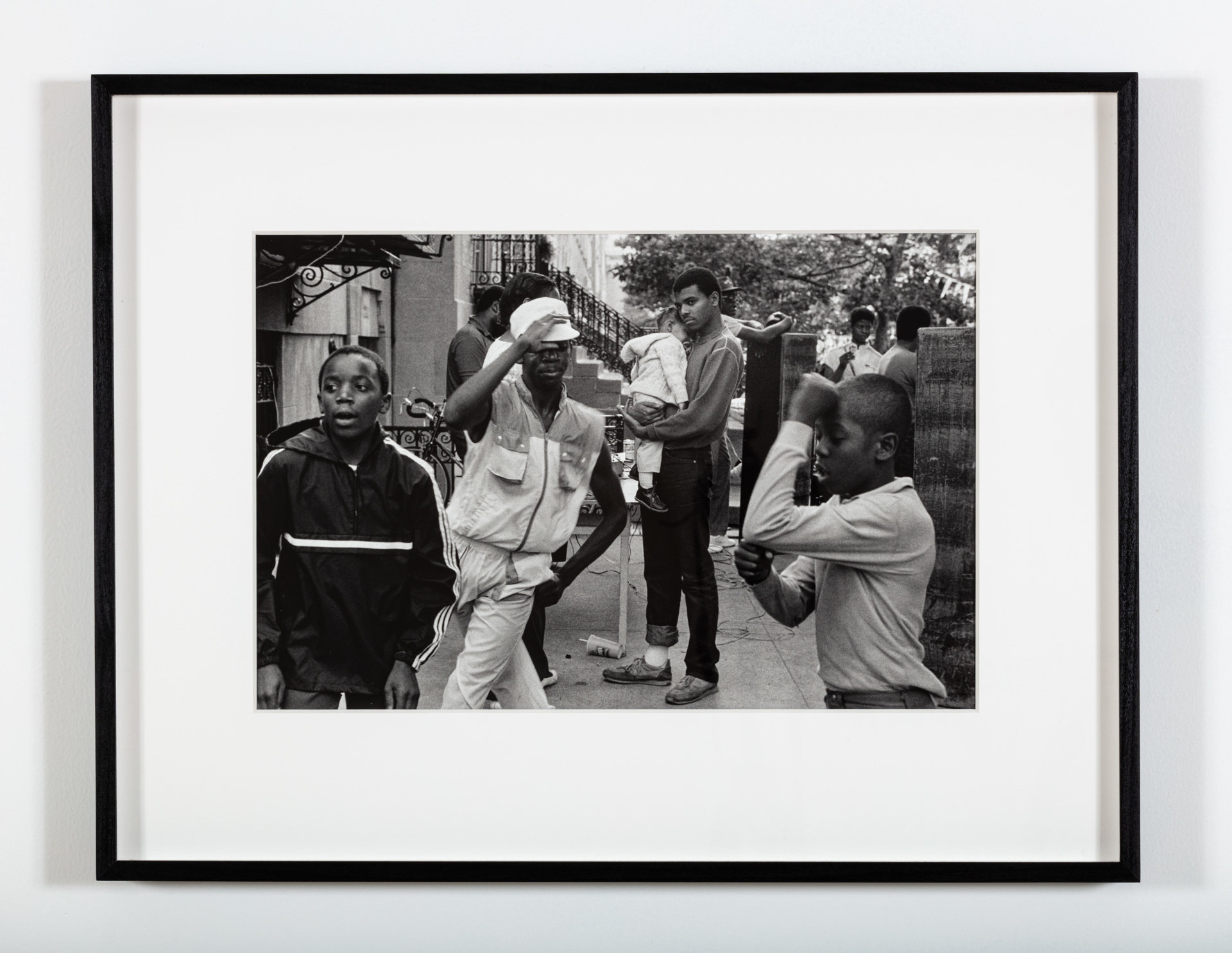 Martine Barrat, You have to be born to have any type of title (Harlem), 1984, gelatin silver print, 16 x 20 in. 26.5 x 20.5 in. Ed. 5