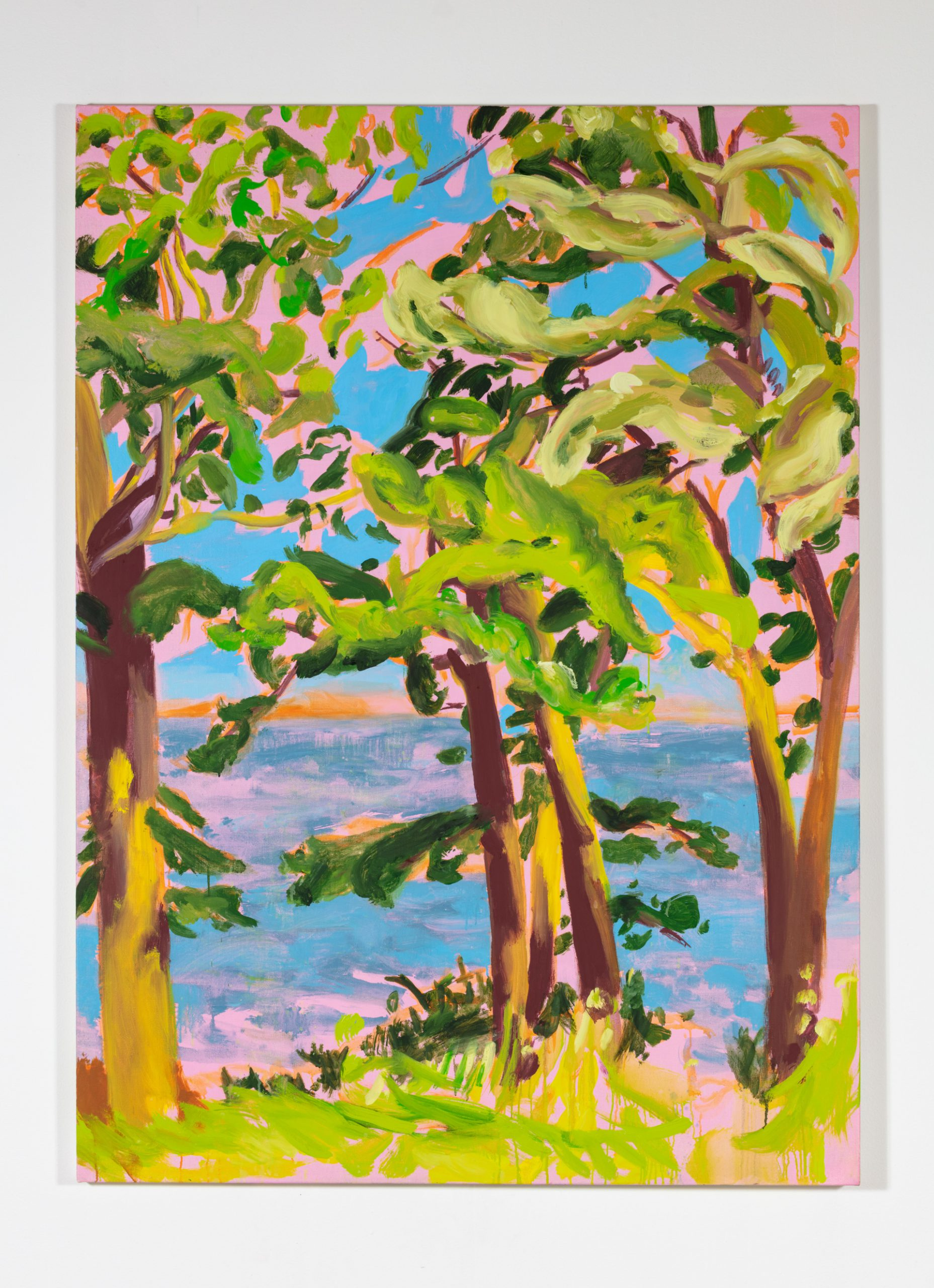 Nicole Wittenberg, Breezes, 2020, Oil on canvas, 66 x 48 in.