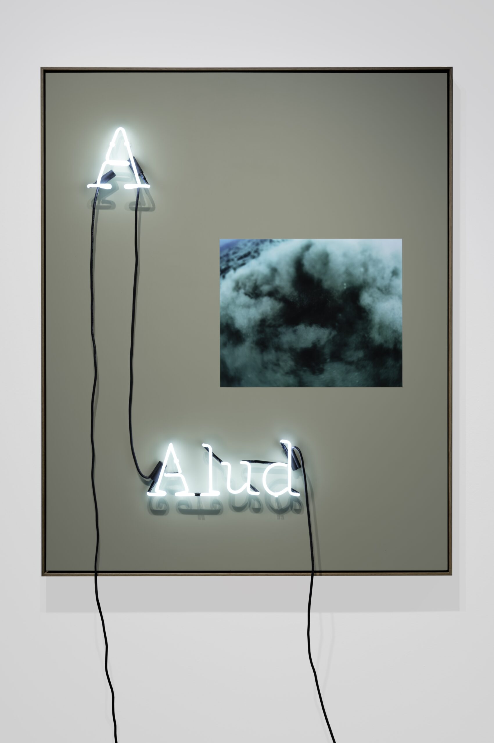 Jamilah Sabur, neon work