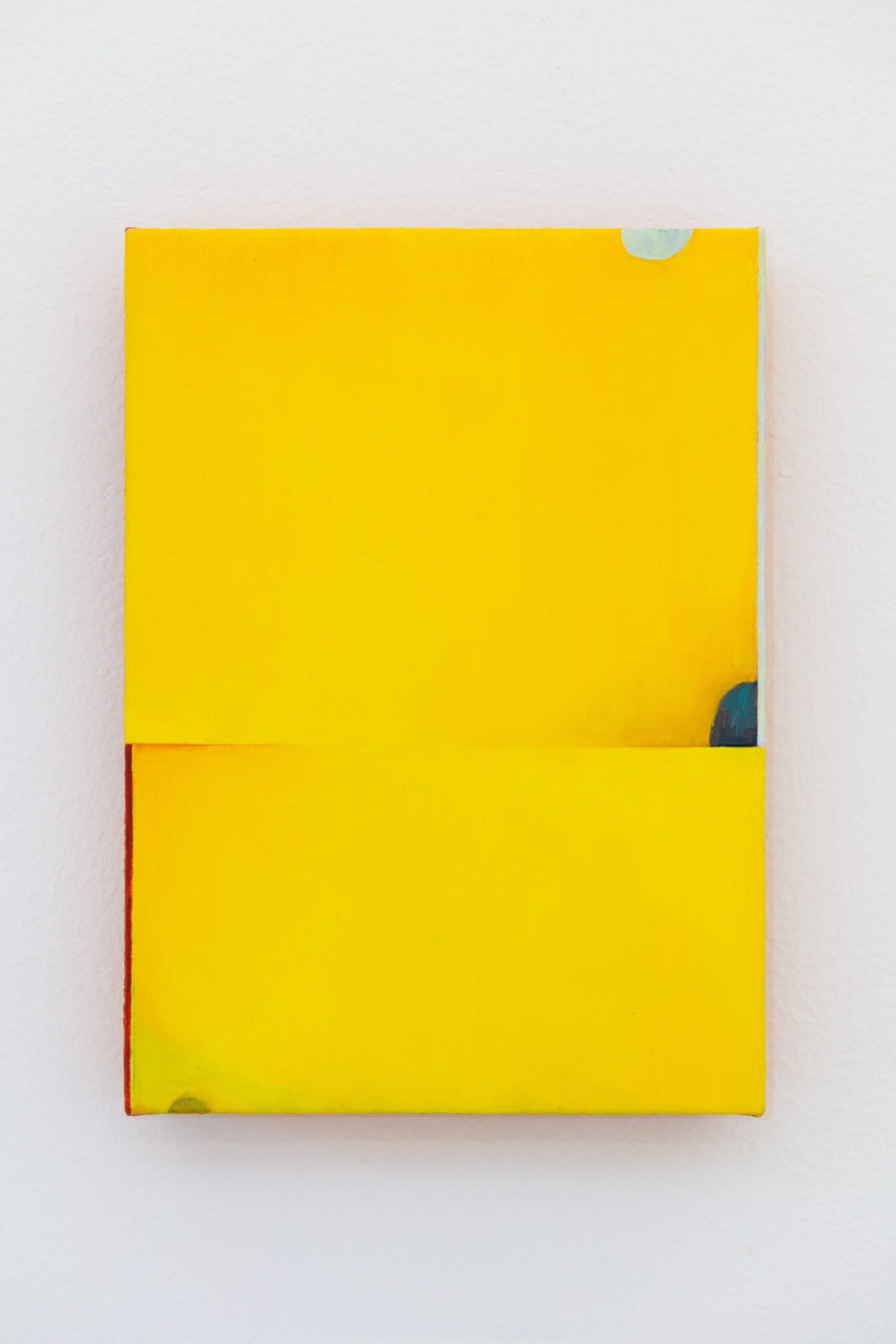 Nathlie Provosty, Poison Dart (iv), 2020, oil on, linen on dibond, 9 x 6.5 in.