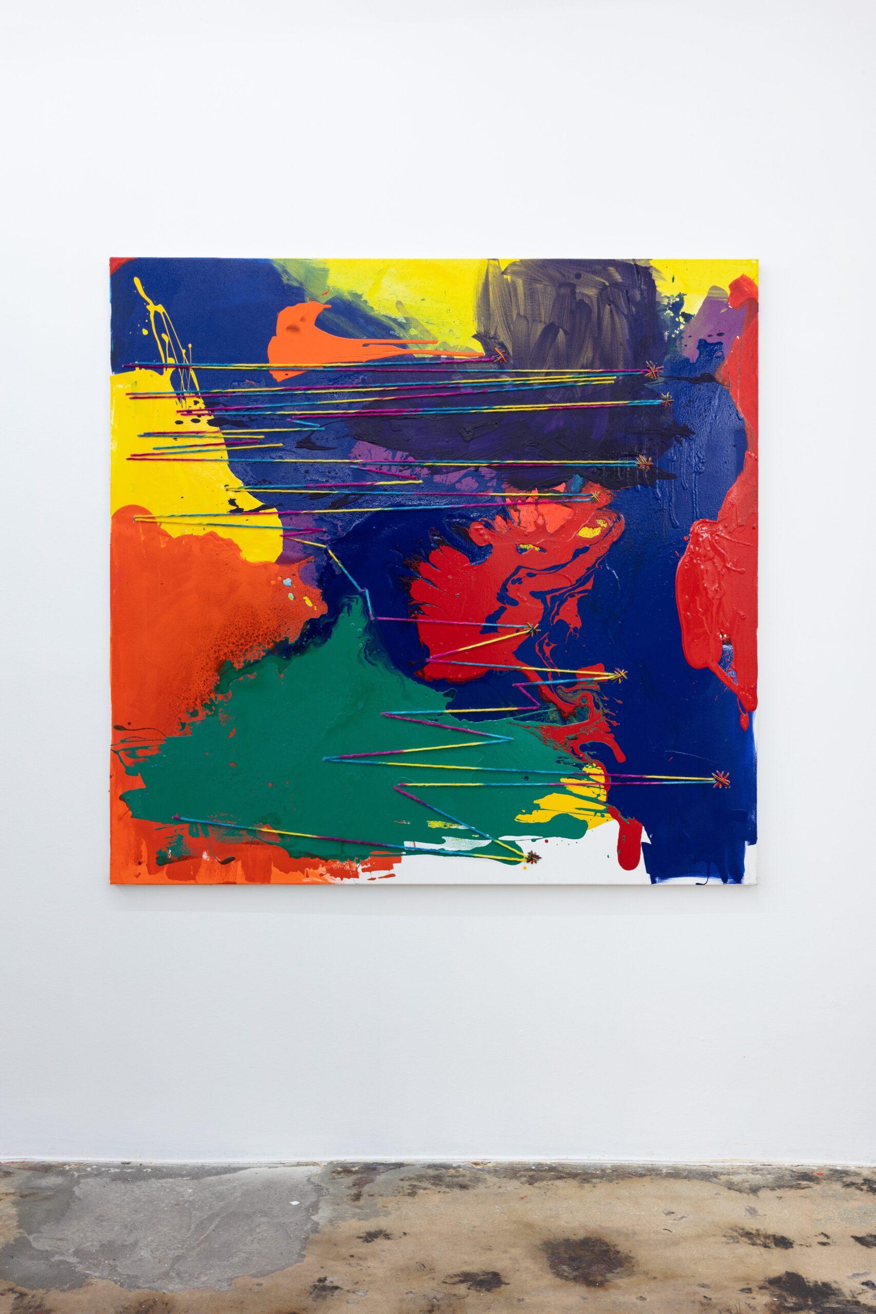 Rochelle Feinstein, oil painting
