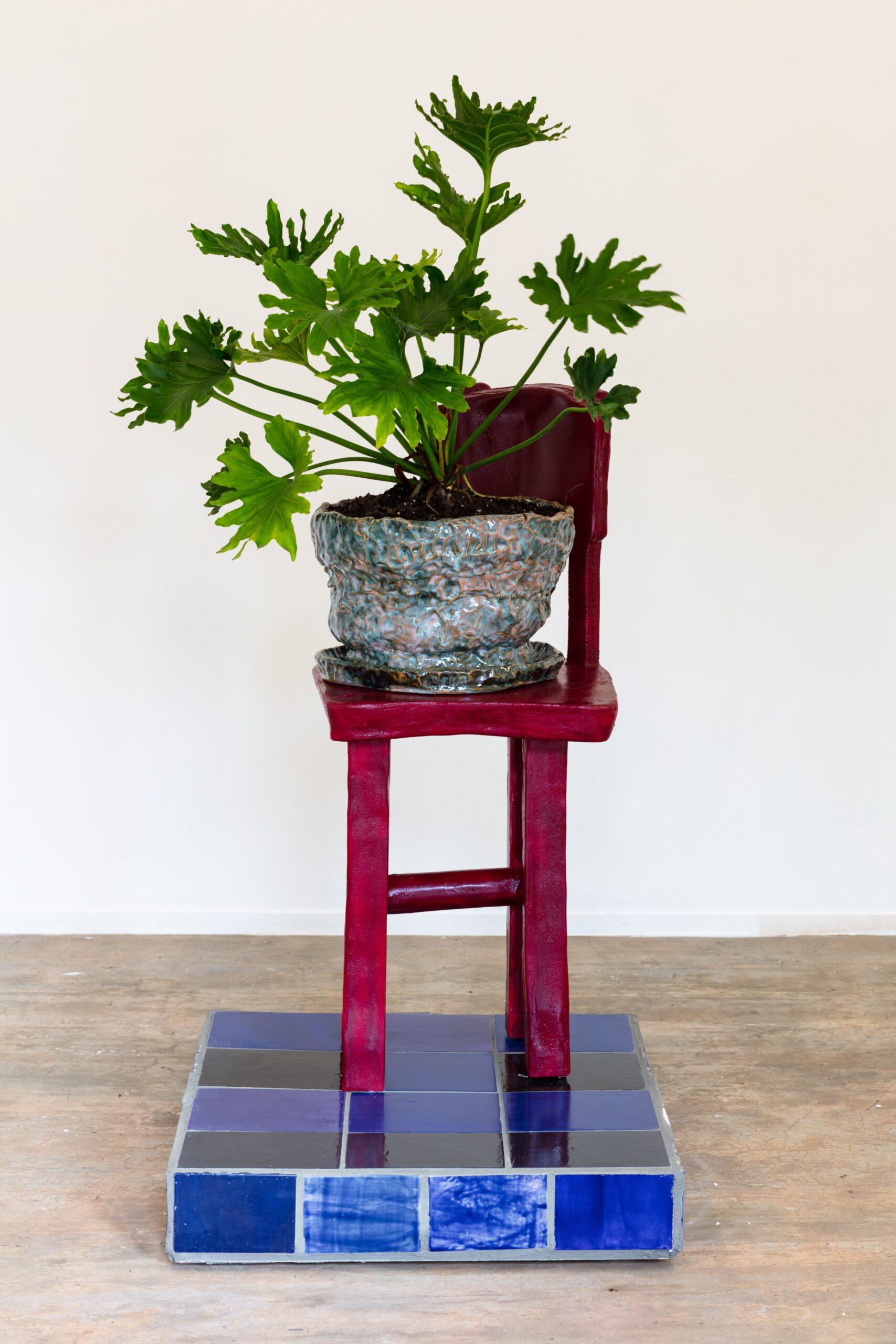 Woody De Othello, ceramic sculpture
