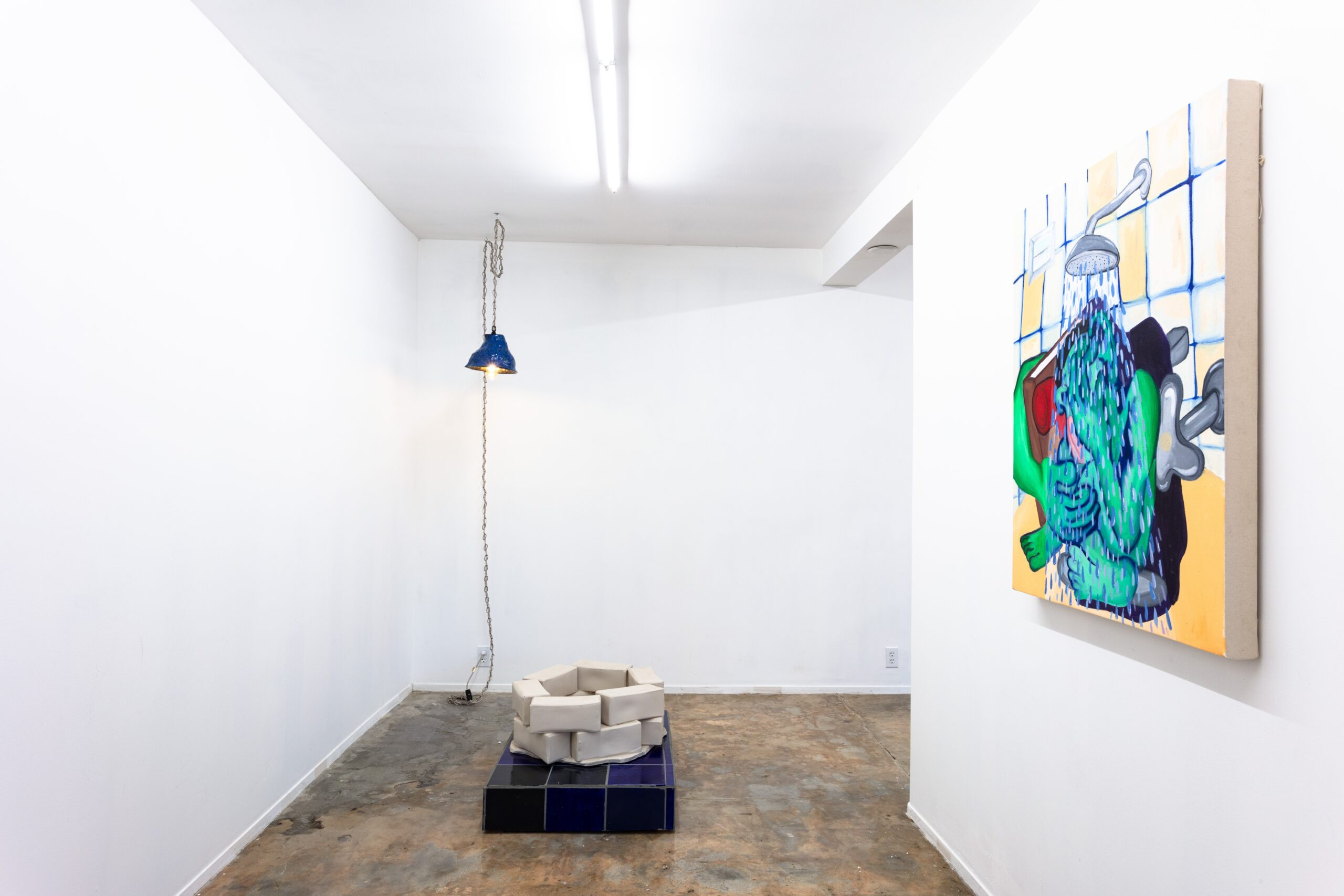 Woody De Othello, Coming to Light installation view