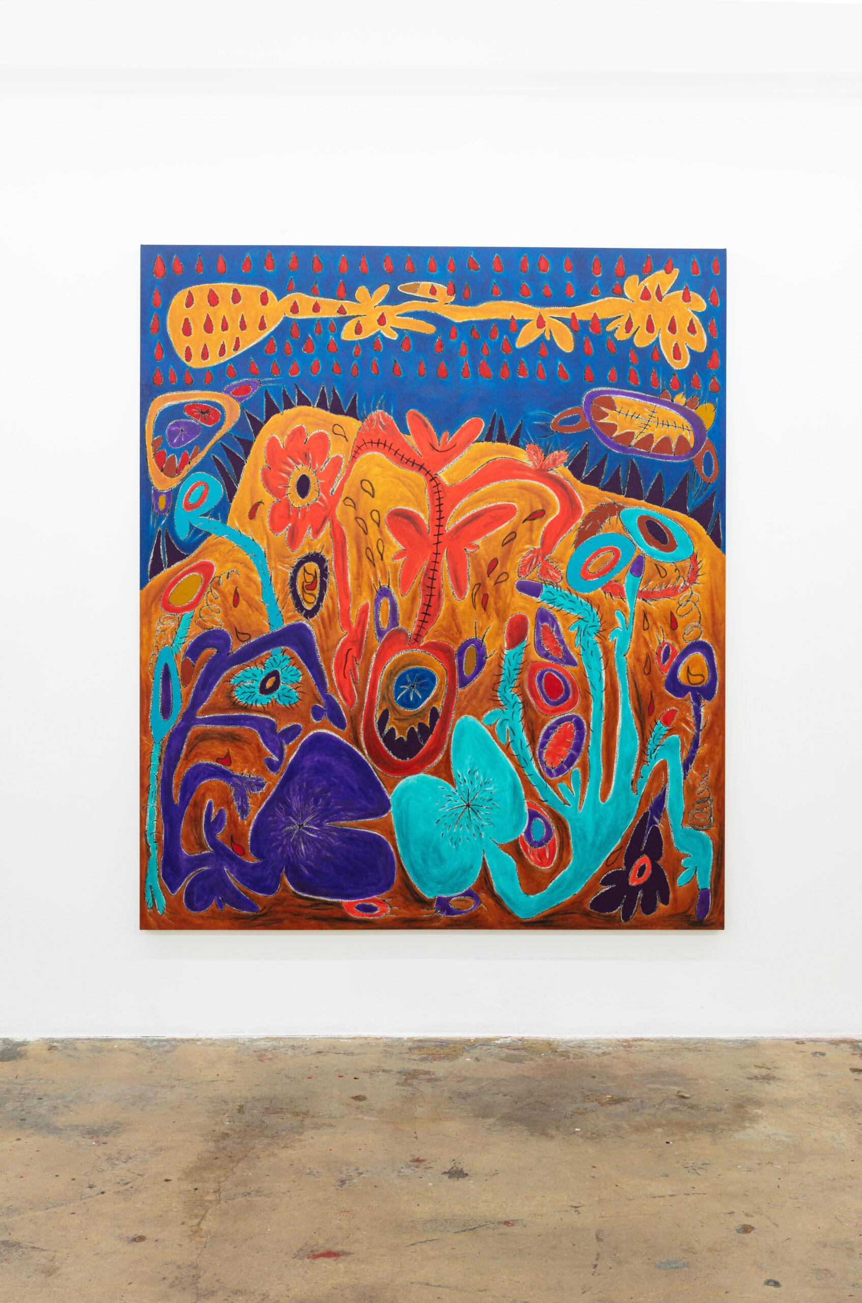Nasim Hantehzadeh painting
