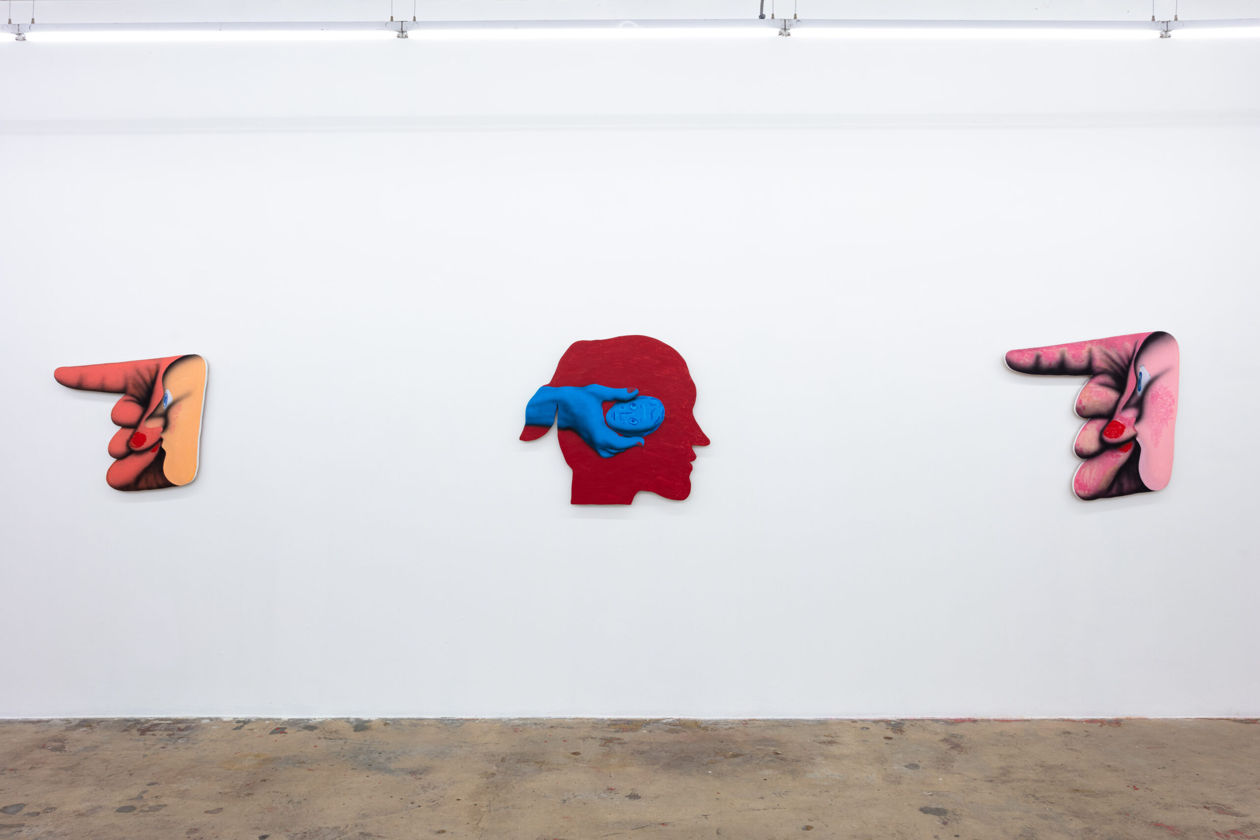 James English Leary, Patter, Installation View